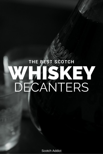 Decanters make a fantastic gift for any whisky aficionado. While you don't need to decant whisky (in fact I don't recommend it), having a beautiful glass piece in your library can be a fantastic accent to any whiskey cabinet.