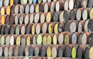 whisky-barrells