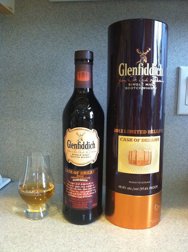 Glenfiddich Cask of Dreams 2012