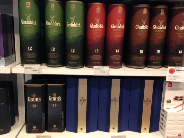 Glenfiddich and Grant's