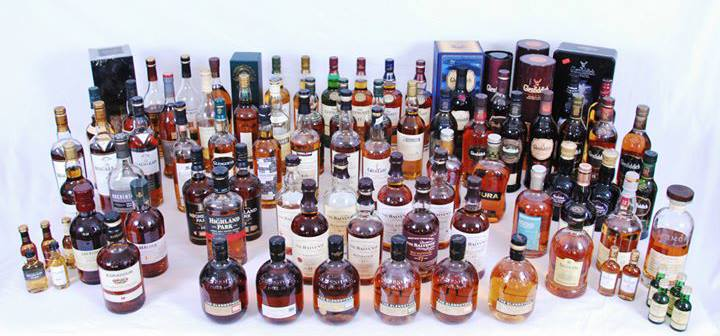 Impressive Scotch Collection - Courtsey of Bill in our Facebook Group
