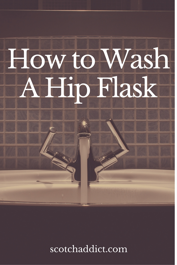 how to clean a flask