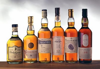 Diageo Six Classic Malts of Scotland