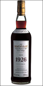 Macallan 1926 Costs $38000 a Bottle