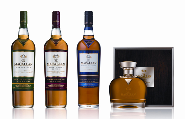 Macallan 1824 Travel Retail Collection