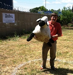 Ardbeg Days - Sheep Toss