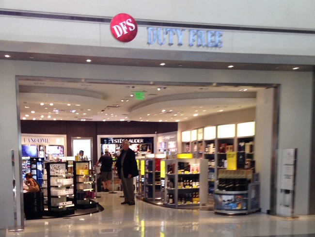 LAX Duty Free @ Gate70A