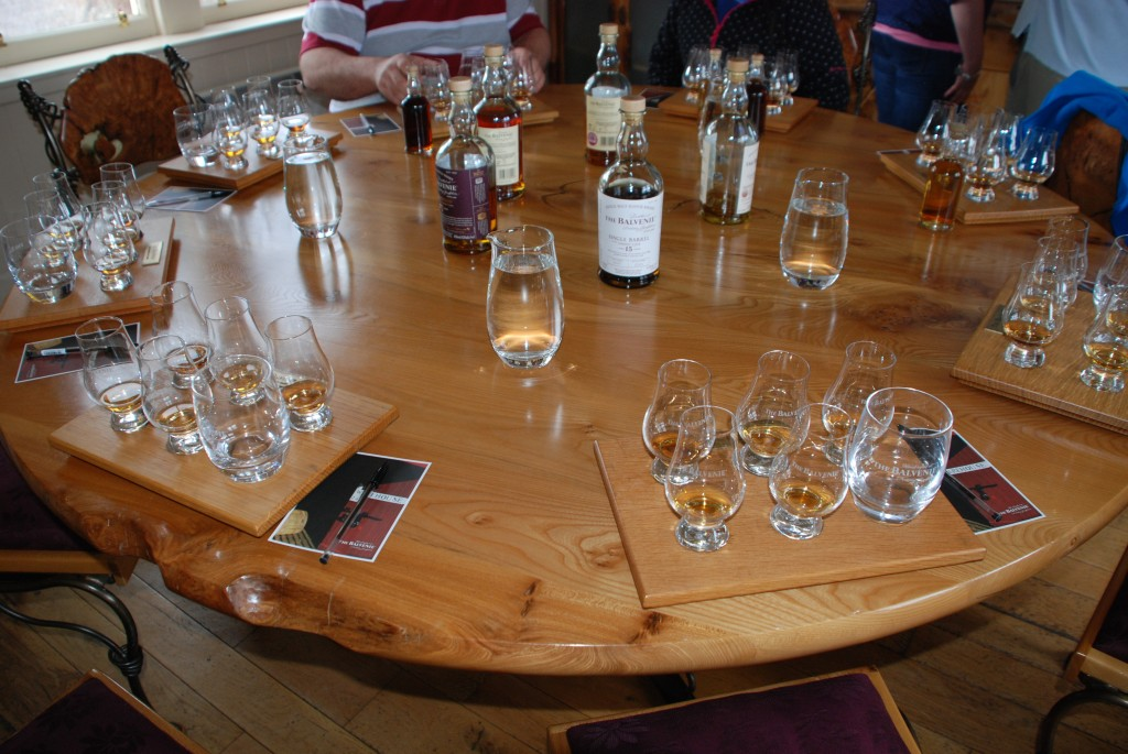Balvenie18 the Tasting Room